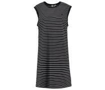 CULLEN - Jerseykleid - black/white