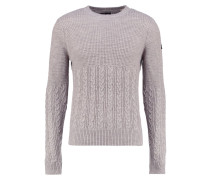 Strickpullover heather grey