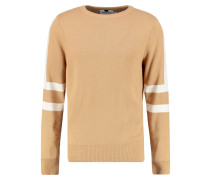 Strickpullover - light brown