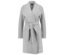 ONLUMA Wollmantel / klassischer Mantel light grey melange