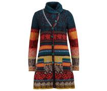 Wollmantel / klassischer Mantel braunrot