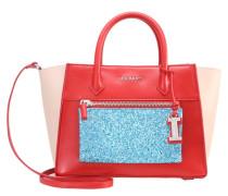Handtasche redblueglitter
