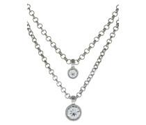FULLI Halskette silvercoloured