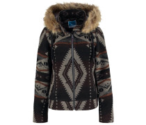 Leichte Jacke brown/off white
