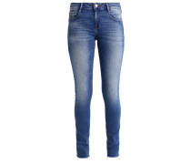 ADRIANA - Jeans Slim Fit - fringe sunset