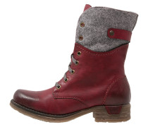 Snowboot / Winterstiefel red
