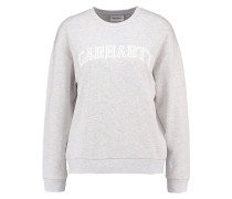 W`YALE - Sweatshirt - ash heather/white