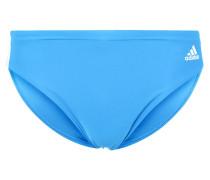 Badehosen Slips blue/white