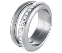 TIVA Ring shiny silvercoloured