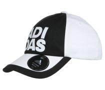 Cap black/white