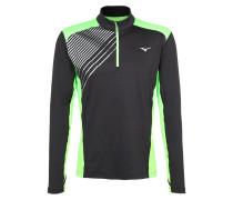 VENTURE Langarmshirt black/green gecko