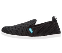 CRUZ - Slipper - jiffy black/shell white