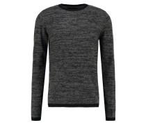 Strickpullover grey/black
