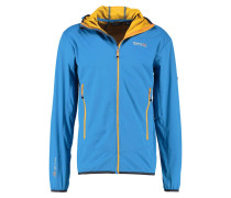 STATIC Softshelljacke hydro blue