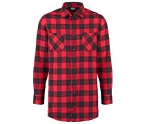 Hemd black/red