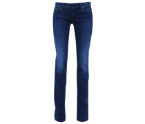 TEENA Flared Jeans blue wash