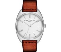 VEGETABLE - Uhr - braun/weiß/silberfarben