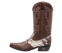 Cowboy/ Bikerboot brown/beige