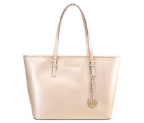 JET SET TRAVEL - Handtasche - pale gold