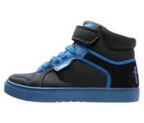 Sneaker high black/blue