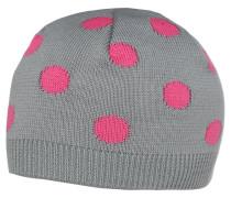 Mütze grau/pink