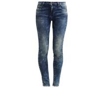 DORA Jeans Slim Fit carmona damaged wash