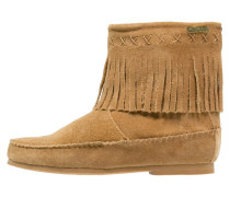 CRABE Stiefelette camel