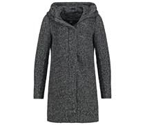 ONLINDIE Wollmantel / klassischer Mantel dark grey melange