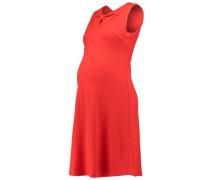 Jerseykleid fiery red