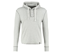 Kapuzenpullover - light grey melange