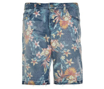 TROPICAL - Jeans Shorts - multicolor