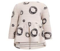 Jerseykleid beige/dark grey
