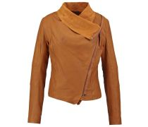 VALENTINE Lederjacke brown sugar