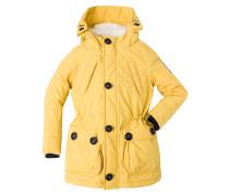 ANGLE Wintermantel jaune