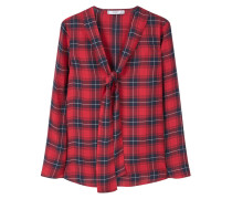 CUAD Bluse medium red
