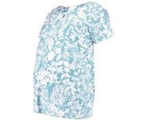 MLLINA LIA - T-Shirt print - mineral blue