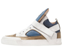 BASKET Sneaker high used bianco/used blu/used verde/bianco fondo/white