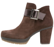 INES Plateaustiefelette brown/make