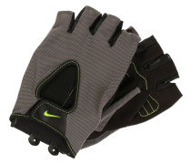 FUNDAMENTAL - Kurzfingerhandschuh - dark grey/black/volt