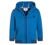Sweatjacke bright blue