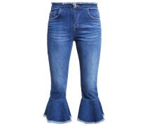 Flared Jeans denim mid