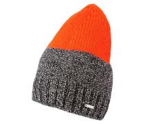 KWALD Mütze schwarz/orange