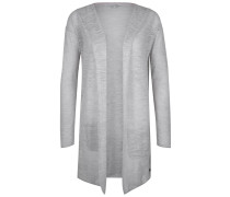 Strickjacke - grey marl