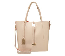 Shopping Bag - beige/orange