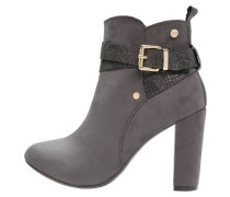 High Heel Stiefelette grey