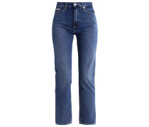 HIGH RISE STRAIGHT ANKLE - Jeans Slim Fit - vintage mid