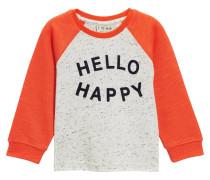 Langarmshirt orange