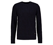 Strickpullover - dark blue/black