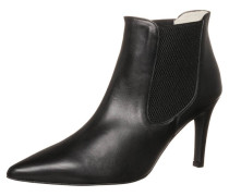 Ankle Boot napa negro/negro/planta cabra sand