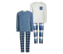 2 PACK Pyjama navy